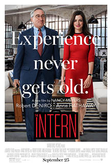 Cinescoop The Intern Movie Poster